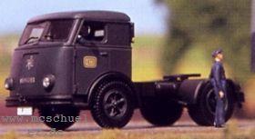 1:87 Henschel HS 145 TS Sattel-Zugmaschine, Deutsche Bundesbahn - Weinert 4526  - Kabine mit langem Seitenfenster | günstig bestellen bei Weinert-Bauteile