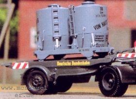 1:87 Ackermann Auflieger mit Haus zu Haus Zementbehälter - Weinert 4528  | günstig bestellen bei Weinert-Bauteile