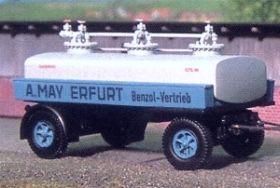 1:87 Anhänger 2-achsig für Benzol-Tanklastzug, Baujahr1935-40 - Weinert 4533  | günstig bestellen bei Weinert-Bauteile