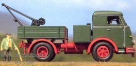 1:87 Henschel HS 165, Baujahr 1955, Zugmaschine mit kleiner Pritsche + Kran - Weinert 4536  | günstig bestellen bei Weinert-Bauteile