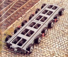 1:87 Schwerlastfahrzeug der DRG, Baujahr 1935, 24-rädrig - Weinert 4556  | günstig bestellen bei Weinert-Bauteile