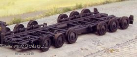 1:87 DB-Straßenroller R42, Baujahr 1953, 12-rädrig - Weinert 4561  | günstig bestellen bei Weinert-Bauteile