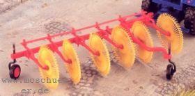 1:87 Sternrad-Heumaschine zum Anhängen an Traktoren - Weinert 4573  | günstig bestellen bei Weinert-Bauteile