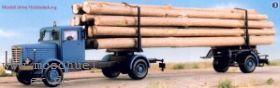 1:87 Büssing NAG 500 Holztransporter Baujahr 1948- Weinert 4582  | günstig bestellen bei Weinert-Bauteile