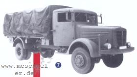 1:87 Büssing NAG 500, Wehrmachtsausführung- Weinert 4584  | günstig bestellen bei Weinert-Bauteile