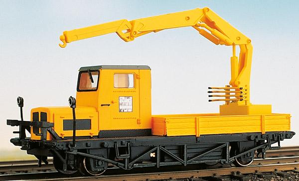 1:87 Klv 51 Ep.4 gelb mit Atlas-Hydraulik-Kran - Weinert 46058 - Fertigmodell für 2-Leiter D.C. DIGITAL | günstig bestellen bei Weinert-Bauteile