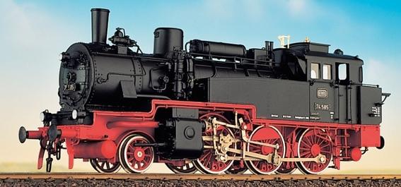 DB BR 74 4-13 - preuss. T12 mit DB Zeichen, Fertigmodell - Weinert 46151  - Messingmodell mit DCC-Decoder | günstig bestellen bei Weinert-Bauteile