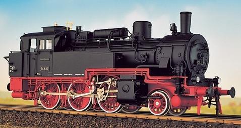 DRG BR 74 4-13 - preuss. T12 - Fertigmodell - Weinert 46171  - Messingmodell mit DCC-Decoder | günstig bestellen bei Weinert-Bauteile