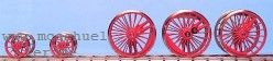 BR 17: RP25 Lokradsätze für Roco BR 17 - Weinert  - Tenderräder separat erhältlich | günstig bestellen bei Weinert-Bauteile