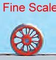 Mehr Details und Kaufen von Tenderradsatz RP25 Fine Scale d=11,5mm, 9 Speichen-Weinert 56500  | günstig bestellen bei Weinert-Bauteile