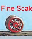 Mehr Details und Kaufen von Vorlauf-Radsatz RP25 Fine Scale d=9,8mm, 9 Speichen-Weinert 56520  | günstig bestellen bei Weinert-Bauteile