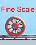 Mehr Details und Kaufen von Tenderradsatz RP25 Fine Scale mit Haftreifen, d=11,5mm, 9 Speichen-Weinert 56530  | günstig bestellen bei Weinert-Bauteile