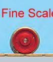 Vorlauf-Radsatz RP25 Fine Scale d=9,8mm-Weinert 56550  | günstig bestellen bei Weinert-Bauteile