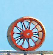 Nachläufer-Radsatz RP25, 11 Speichen, d=14,3mm - Weinert  - im Original = 1250mm | günstig bestellen bei Weinert-Bauteile
