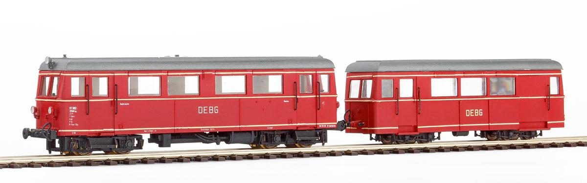 H0e VT 302 Dieseltriebwagen - Weinert 6001 - Bausatz mit Mabuchi-Motor | günstig bestellen bei Weinert-Bauteile