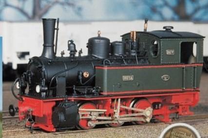 H0m Dampflok Hoya, Ausführung 50er u. 60er Jahre - Weinert 62061 - Komplettbausatz mit Mabuchi-Motor | günstig bestellen bei Weinert-Bauteile