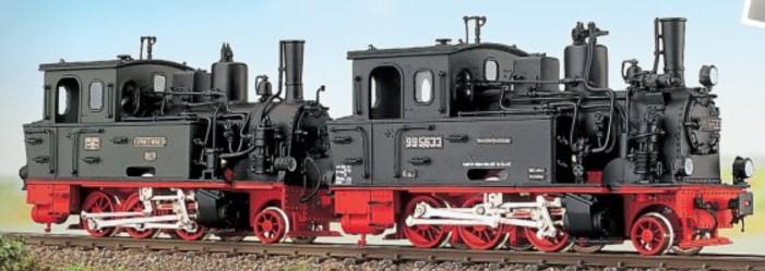 H0e Dampflok Spreewald - Weinert 100107  - Komplettbausatz mit Faulhaber-Motor | günstig bestellen bei Weinert-Bauteile
