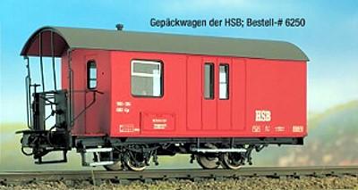 H0m Gepäckwagen HSB, Bausatz - Weinert 6250   | günstig bestellen bei Weinert-Bauteile
