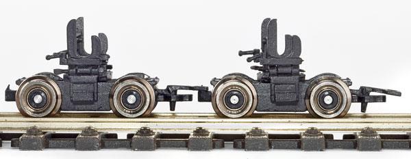 H0m Rollbock der HSB, alte Ausführung, 1 Paar - Weinert 62581   - mit Kupplungen - Bausatz | günstig bestellen bei Weinert-Bauteile