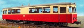 H0m Triebwagen Typ Talbot - HSB 187 011 - Weinert 6280 - Bausatz mit Mabuchi-Motor | günstig bestellen bei Weinert-Bauteile