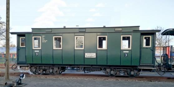 H0e DEV Personenwagen Nr. 1 - Weinert 6091 - Komplettbausatz  | günstig bestellen bei Weinert-Bauteile