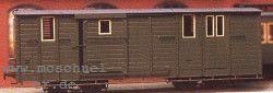 H0e 4-achsiger Postwagen mit Speichenrädern, Bausatz - Weinert 60212  | günstig bestellen bei Weinert-Bauteile