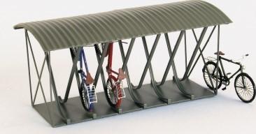 1:220 Fahrradständer für 12 Fahrräder-Weinert 6898  | günstig bestellen bei Weinert-Bauteile