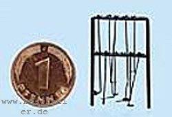 N Schürhakengestell mit 6 Schürrhaken, Messingbausatz- Weinert 6920  | günstig bestellen bei Weinert-Bauteile
