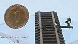 N Gleissperre, Attrappe, Messinggußteil- Weinert 6923  | günstig bestellen bei Weinert-Bauteile