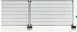 Mehr Details und Kaufen von 1:160 Baustellenzaun, L=26cm-Weinert 6969  | günstig bestellen bei Weinert-Bauteile