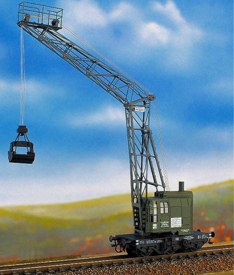N 3-a. Kohlenladekranwagen Beck & Henkel AG Kassel, Ätz-und Gussteile, Bausatz - Weinert 6991  | günstig bestellen bei Weinert-Bauteile