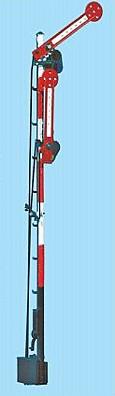 1:87 Schweizer Hauptsignal, zweiflüglig gekoppelt - Weinert 7012  - beleuchtete Ausführung als Bausatz | günstig bestellen bei Weinert-Bauteile