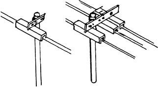 N Rollenhalter 1-fach+3-fach, je 6 Stück, Bausatz- Weinert 6945  | günstig bestellen bei Weinert-Bauteile