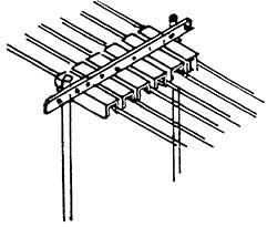 TT Rollenhalter 6-fach, 6 Stück, Messingguss, Bausatz- Weinert 5806  | günstig bestellen bei Weinert-Bauteile