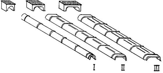 TT Blechkanäle + Rollenkästen 10xGr.I, 6xGr.II, 4xGr.III, je 2xGr.IV,V,VI, Weissmetall - Weinert 5807  | günstig bestellen bei Weinert-Bauteile