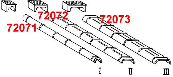 1:87 Blechkanäle und Rollenkästen, Gr.1, 10 Stück-Weinert 72071  | günstig bestellen bei Weinert-Bauteile