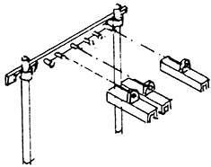 N Rollenhalter 6-fach (6 St.), 6 Querträger und 18 einzelne Schutzhauben mit Pfosten, Bs. - Weinert 6964  | günstig bestellen bei Weinert-Bauteile