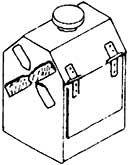 1:87 DKW-Laterne beleuchtet, nicht funktionsfähig - Weinert 7228  | günstig bestellen bei Weinert-Bauteile