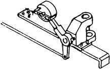 1:87 H0e-H0m Weichenstellvorrichtung für Schmalspurweichen- Weinert 7230  | günstig bestellen bei Weinert-Bauteile