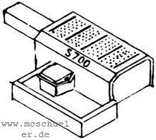1:87 Weichenantriebsattrappe für elektrische Antriebe S 700- Weinert 7231  | günstig bestellen bei Weinert-Bauteile