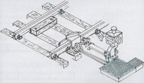 1:87 Code 75 Gleissperre funktionsfähig mit Antrieb - Weinert 72321  | günstig bestellen bei Weinert-Bauteile