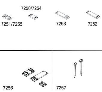 Mehr Details und Kaufen von Code 75 Schienenfüsschen geätzt, für den Weichenselbstbau - Weinert 7256  - 156 Stück | günstig bestellen bei Weinert-Bauteile