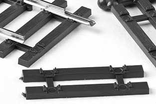 MG Code 75 Schwelle Holz mit Aussparung für Schienenverbinder 10 St.  - Weinert MeinGleis 74001  | günstig bestellen bei Weinert-Bauteile