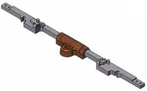 MG Code 75 Zungenverschluss (Stellst.) Messing 1 St.  - Weinert MeinGleis  | günstig bestellen bei Weinert-Bauteile