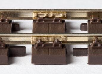 MG Code 75 Doppelschwellen Holz zum Nachrüsten, 10 Stück - Weinert MeinGleis 74014  | günstig bestellen bei Weinert-Bauteile