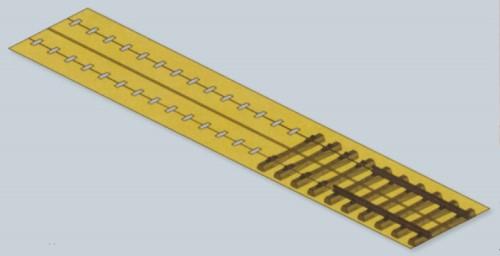 Lackierhilfe für Weinert Betonschwellengleis - Weinert 74023  | günstig bestellen bei Weinert-Bauteile