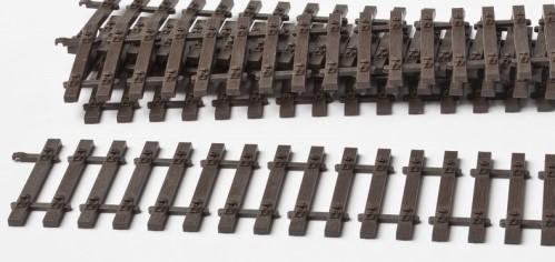 MG Code 75 Schwellenrost mit Holzschwellen, 40 Stück, L=22cm - Weinert MeinGleis 74100  | günstig bestellen bei Weinert-Bauteile