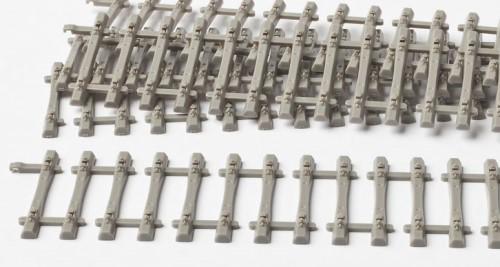 MG Code 75 Schwellenrost mit Betonschwellen, 40 Stück, L=14cm - Weinert MeinGleis 74101    günstig bestellen bei Weinert-Bauteile