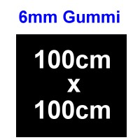 Schalldämmung 6mm Platte Gummi, 1000x1000mm - Weinert 74260  | günstig bestellen bei Weinert-Bauteile