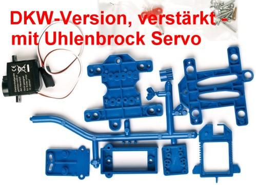 Weichenantrieb für DKW mit Uhlenbrock Servo - Weinert 74308  | günstig bestellen bei Weinert-Bauteile